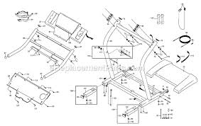 nordictrack nttl09991 parts list and diagram exp1000
