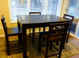 Bar Kitchen Table by Ana White Tryde Counter Height Kitchen Table Diy Projects