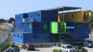 Shipping Container Apartments Building An Office Of Shipping Containers Npr