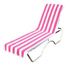 Lounge Chair Towel Covers Kids Beach Chair J Amp M Home Fashions Lounge Chair Beach Towel