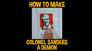 Colonel Sanders Memes - how to make colonel sanders a demon youtube