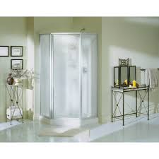 neo angle straight shower stalls u0026 kits showers the home depot