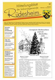Gesundheitsamt Bad Kreuznach Mitteilungsblatt Kw51 By Verbandsgemeinde Rüdesheim Issuu