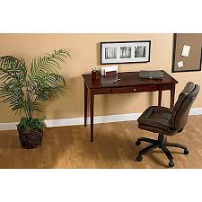 Computer Writing Desk Realspace Inlay Writing Desk Light Cherry By Office Depot U0026 Officemax