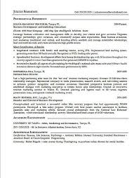 Sample Marketing Resumes by Marketing Executive Resume Example