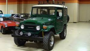 toyota jeep 1980 1978 toyota fj40 land cruiser 4x4 youtube