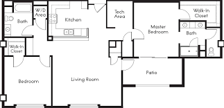 Master Bed And Bath Floor Plans by Novato Ca Apartments Millworks Apartments