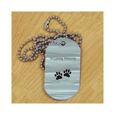 in loving memory dog tags personalized pet memorial dog tag metal hot sale topnoshcakes co uk
