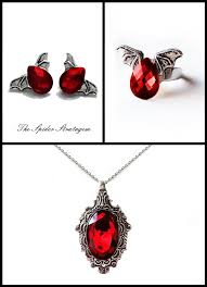 red gothic necklace images 480 best the spider stratagem gothic victorian jewellery images on jpg