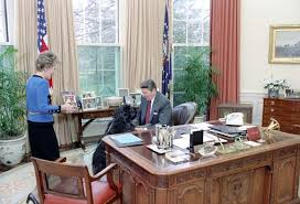 reagan oval office pets ronald reagan presidential library national archives and