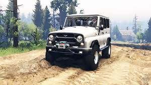 uaz hunter 2014 uaz hunter 315195 v2 0 for spin tires