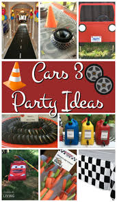 the party ideas cars 3 party ideas simplistically living
