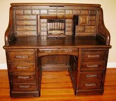 Small Writing Desks For Sale Awesome Oak Roll Top Desk Home Painting Ideas With Regard To Desks