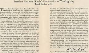 Who Encouraged Abraham Lincoln To Create Thanksgiving Day In 1863 In Medias Res November 2013