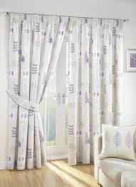 Interior Soho Double Sears Curtain by Decor Lilac Curtains For Providing Fashionable Home Interior