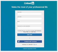 linkedin sign up linkedin register help step by step tutorial