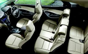 hyundai santa fe 3 child seats hyundai santa fe price in india images mileage features