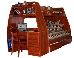 Bunk Beds Twin Over Full With Desk Berg Furniture Enterprise Twin Over Full Bunk Bed With Computer