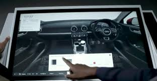 audi digital showroom retail s future facebook loyalty cards and touch screen showrooms