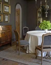 seasparkles grey dining room jute rug charcoal gray walls paint