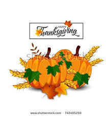 thanksgiving day stock vector 748485277