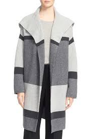 Womens Car Coat Vince Colorblock Wool U0026 Cashmere Knit Car Coat Nordstrom Rack