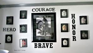 Firefighter Home Decorations | wall decor firefighter inspirations desi on wreaths fire service ems