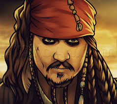 how to create a captain jack sparrow pirate costume how to draw jack sparrow easy step by step characters pop culture