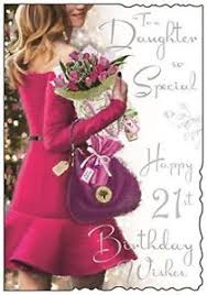 jonny javelin daughter happy 21st birthday card ebay
