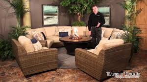 Hanamint Mayfair Patio Furniture by Whitecraft By Woodard Saddleback Patio Furniture Overview Youtube