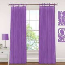 Purple Curtains Purple Sheer Curtains Drapes Window Treatments The Home