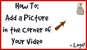 how to put watermark in the corner of your video youtube
