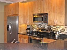 Backsplash Maple Cabinets Granite Countertops With Natural Maple Cabinets Google Search