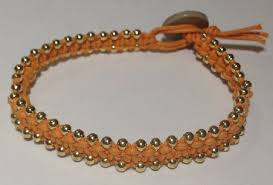 beaded bracelet tutorials youtube images Diy square knot bracelet with gold beads jpg