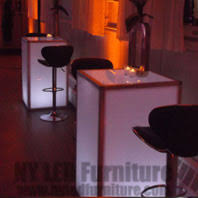event furniture rental nyc event led table rental for nyc