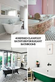 bathroom 40 refined clawfoot bathtubs for elegant bathrooms