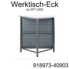 Arbeitstisch Ecke Werkbank Werktisch Arbeitstisch Wt 1200 Lochblech Kombinierbar