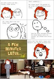 Rage Girl Meme - funny rage comics boy girl rage comics pinterest rage comics