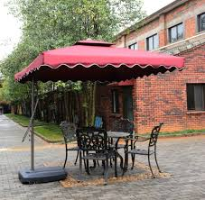 12 Patio Umbrella by Amazon Com Tylor U0027s Garden 8 1 2 Ft Cantilever Outdoor Patio