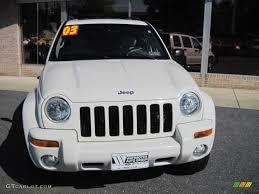 2003 jeep liberty limited 2003 stone white jeep liberty limited 4x4 70081519 photo 2