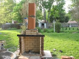 freestanding outdoor fireplace binhminh decoration