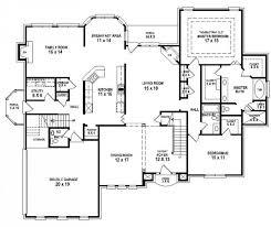 5 bedroom home plans 4 or 5 bedroom home plan 6528rf thumb 04 5