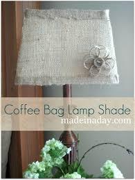 Diy Lamp Shade Diy Burlap Lamp Shades Oh My Creative