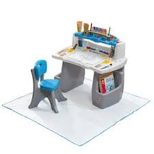 step 2 deluxe art desk step2 deluxe art desk with splat mat baby products pinterest