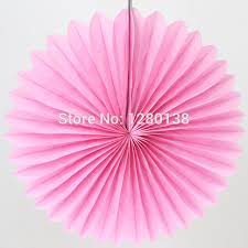 pink tissue paper aliexpress buy 30pcs light pink tissue paper fan wedding