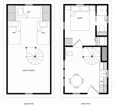 free house floor plans tiny house floor plans tiny house floor plans with lower level beds