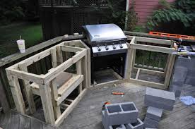 diy outdoor kitchen ideas hickory wood cordovan madison inspirations including fascinating