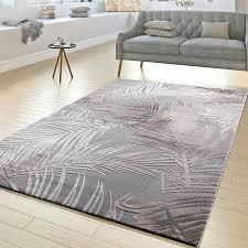 Wohnzimmer Teppiche Modern Moderner Teppich Wohnzimmer Teppiche Hoch Tief Struktur Palmen