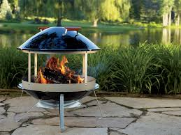 Weber Firepit Weber 2726 Wood Burning Fireplace Outdoor