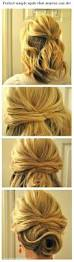 need a new hairstyle for long hair best 25 easy side updo ideas on pinterest side bun tutorial